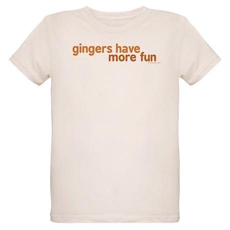 Gingers Have More Fun Organic Kids T-Shirt