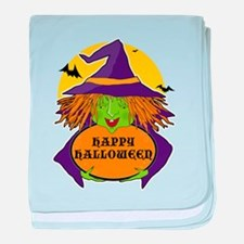 Witch and Cauldron baby blanket
