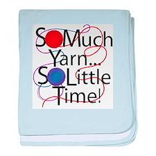 So Much Yarn baby blanket