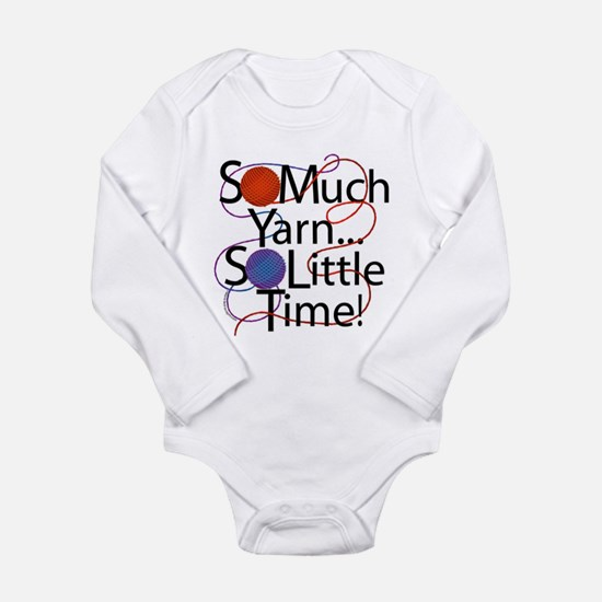 So Much Yarn Long Sleeve Infant Bodysuit