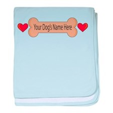 Pets Bowls baby blanket