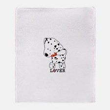 Dalmatian Lover Throw Blanket