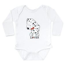 Dalmatian Lover Long Sleeve Infant Bodysuit