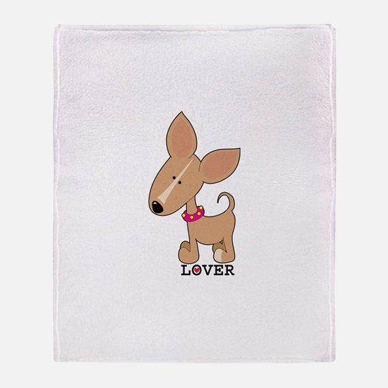 Chihuahua Lover Throw Blanket