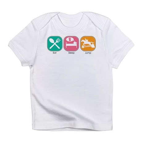 Eat Sleep Jump Infant T-Shirt