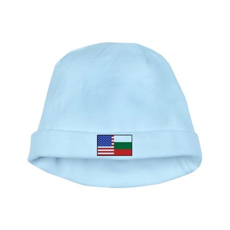 USA/Bulgaria baby hat