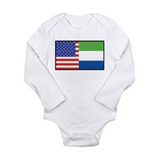 USA/Sierra Leone Onesie Romper Suit