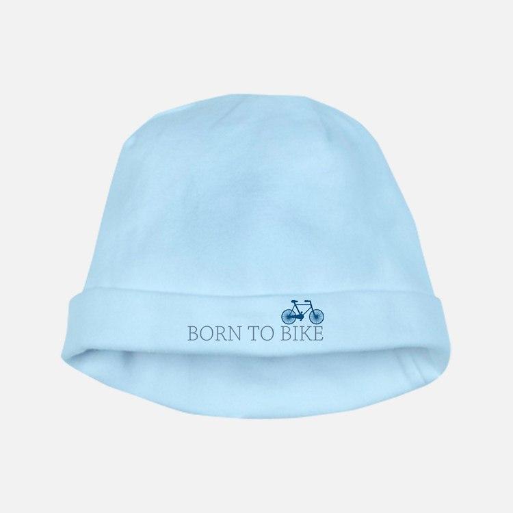 Born to Bike baby hat