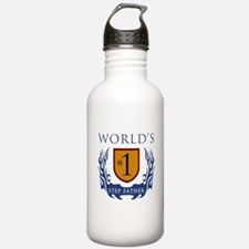 World's Number 1 Step Father Water Bottle