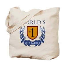 World's Number 1 Step Father Tote Bag