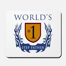 World's Number 1 Step Father Mousepad
