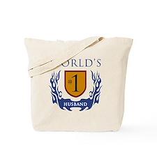 World's Number 1 Husband Tote Bag
