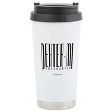 Dexter Bar Code Travel Mug