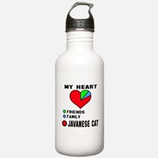 My heart friends, fami Sports Water Bottle