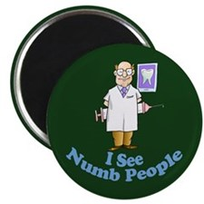 "Funny Dental 2.25"" Magnet (100 pack)"