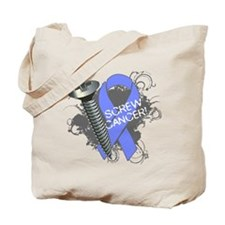 Screw Esophageal Cancer Tote Bag