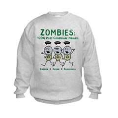 Zombies (Full Color) Sweatshirt