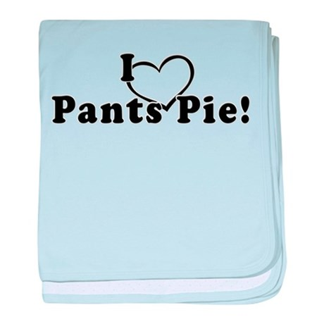 Pants Pie baby blanket