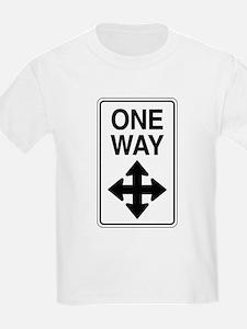 Road Sign Zen T-Shirt