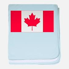 Canadian Flag baby blanket