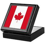 Canadian Flag Keepsake Box