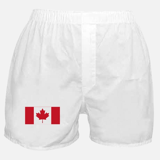 Canadian Flag Boxer Shorts