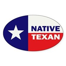 Native Texan Decal