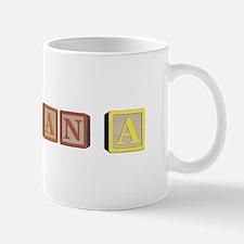 Ana Alphabet Block Mug