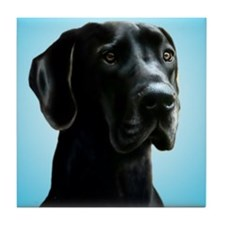 Great Dane Tile Coaster