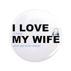 Golfing I love my wife 3.5