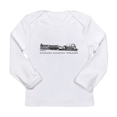 CHOO CHOO TRAIN Long Sleeve Infant T-Shirt