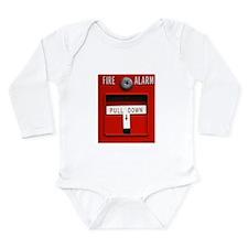 FIRE ALARM Long Sleeve Infant Bodysuit