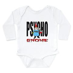 PSYCHO GNOME Long Sleeve Infant Bodysuit
