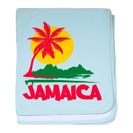 Jamaica Sunset baby blanket