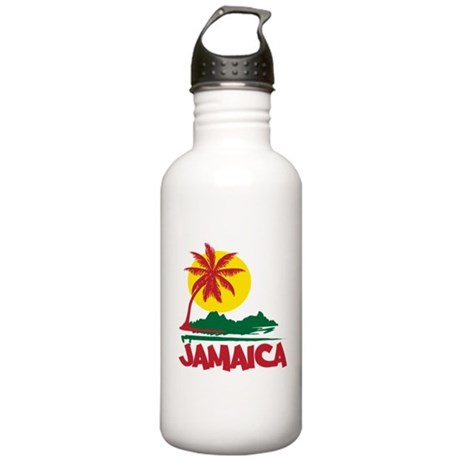 Jamaica Sunset Stainless Water Bottle 1.0L