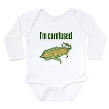 I'M CORNFUSED Long Sleeve Infant Bodysuit