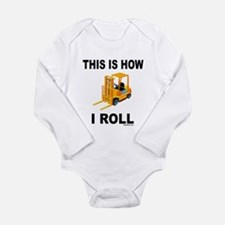 FORKLIFT OPERATOR Long Sleeve Infant Bodysuit