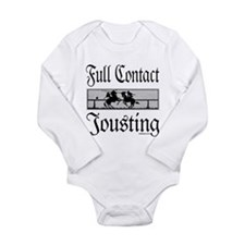 JOUST/JOUSTING Long Sleeve Infant Bodysuit