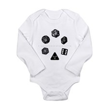 Dice Ring Long Sleeve Infant Bodysuit