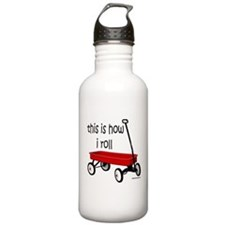 LITTLE RED WAGON Water Bottle