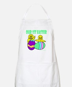 OUR FIRST EASTER Apron