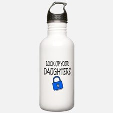 LOCK UP YOUR DAUGHTERS Water Bottle