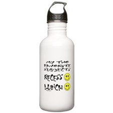 LUNCH AND RECESS Sports Water Bottle
