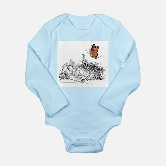 BABY'S IMAGINATION Long Sleeve Infant Bodysuit