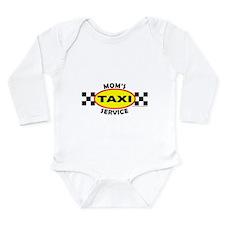 MOM'S TAXI SERVICE Long Sleeve Infant Bodysuit