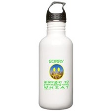 ALLERGIC TO WHEAT Water Bottle