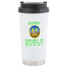 ALLERGIC TO WHEAT Travel Mug