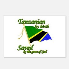 Tanzanian by birth Postcards (Package of 8)