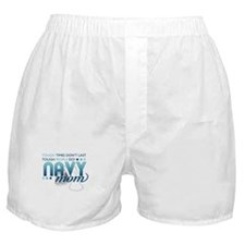 Tough People (Navy Mom) Boxer Shorts