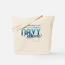 Tough People (Navy Mom) Tote Bag